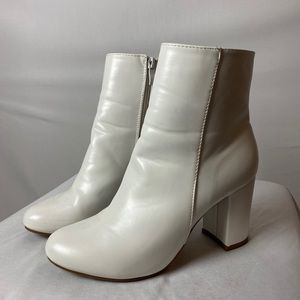 Shoes - White Booties